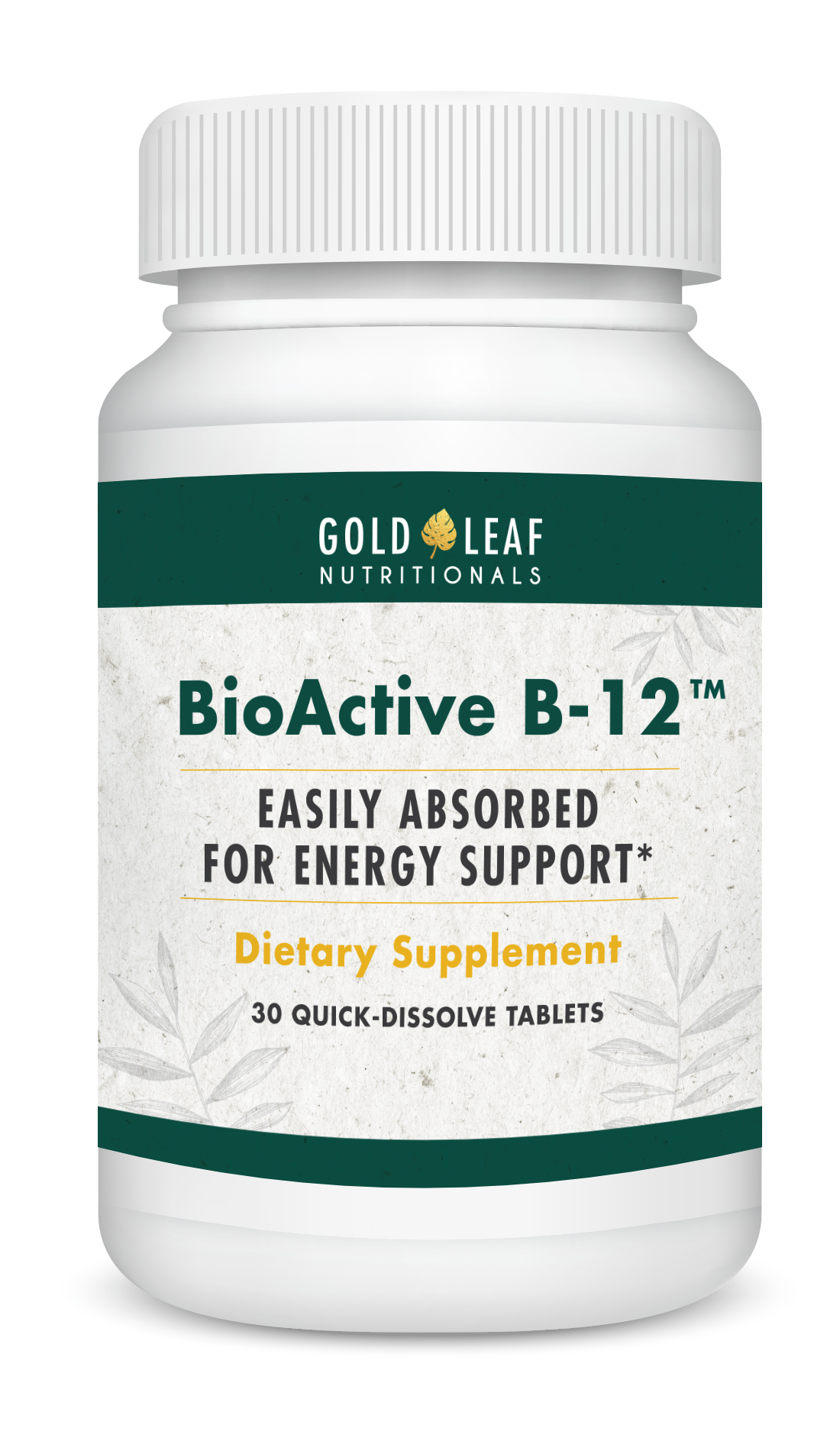 BioActiveB12 Bottle